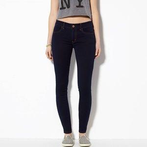 AE Hi Rise Jegging 6 Short Indigo Dark Jeans